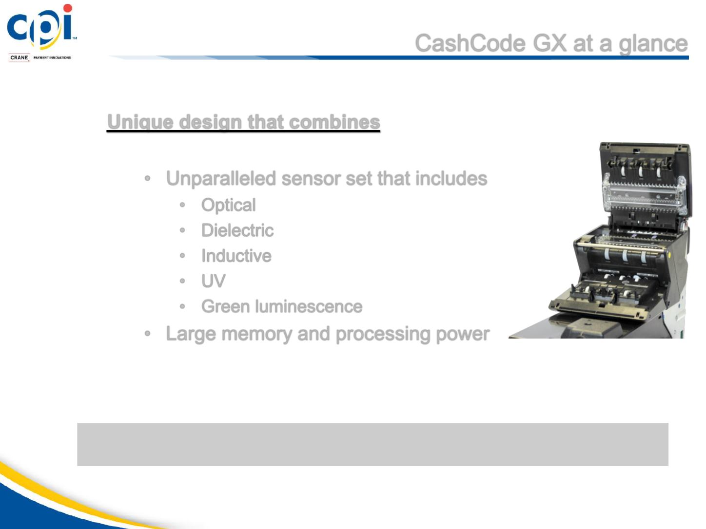 CashCode GX product presentation / English version